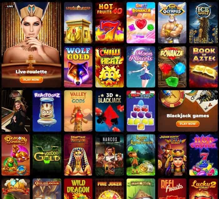 AmunRa Casino gratis spins