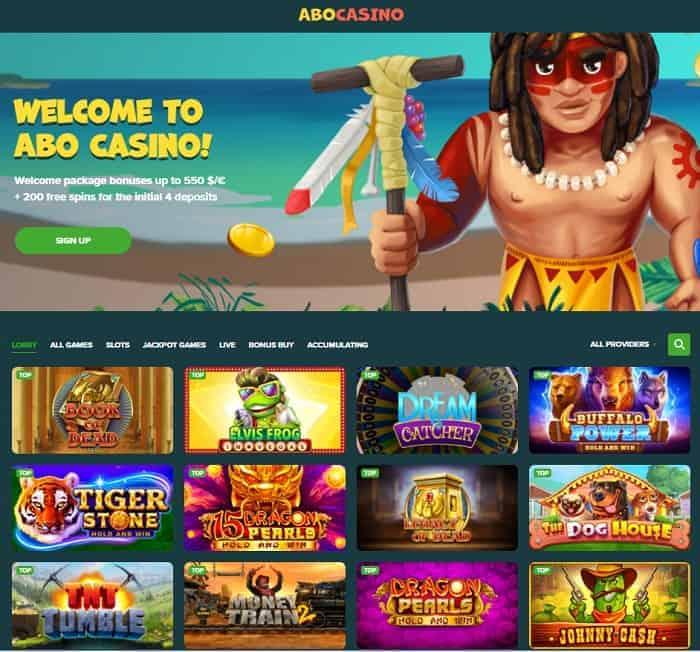 Abo Casino free spins bonus code