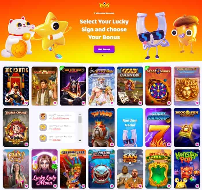 Get 50 free spins to 7Signs