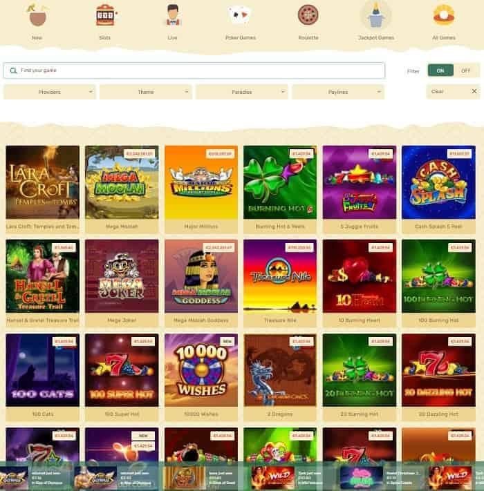 Visit Paradise Gaming!