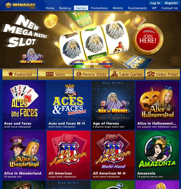 WinADay USA Casino