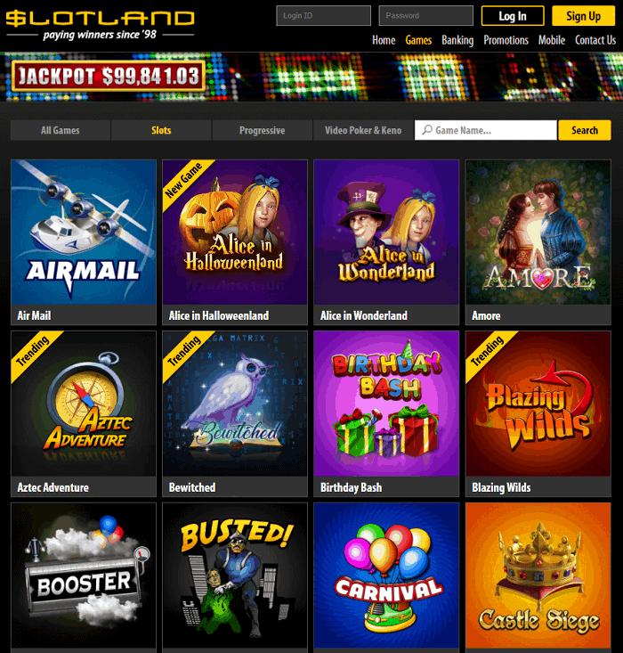 Slotland.eu Casino Review