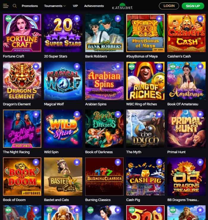 KatsuBet Casino Free Spins No Deposit Bonus