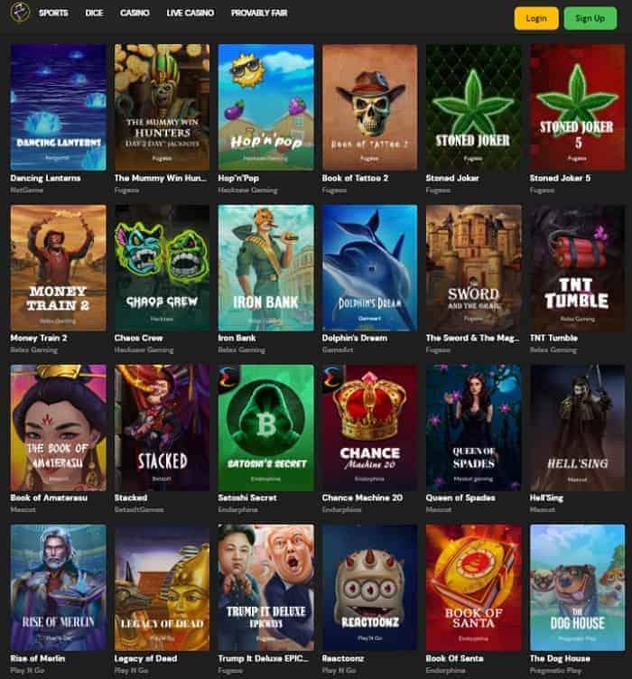 FortuneJack Casino 6 BTC bonus and 300 free spins