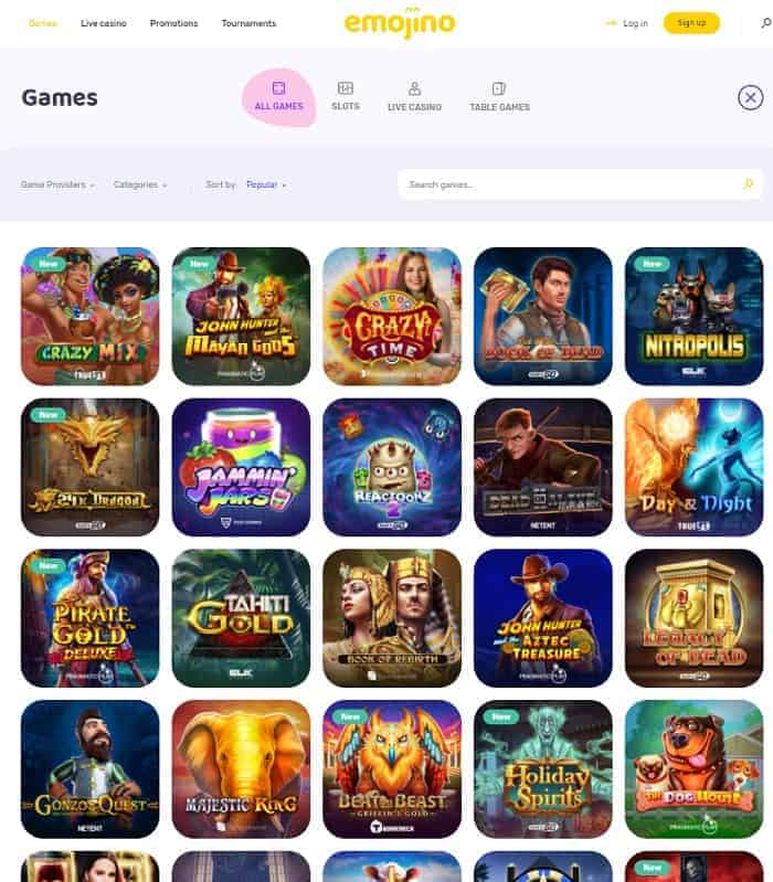 Emoji Casino Review