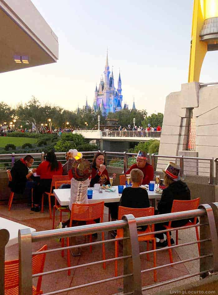 Tips for Disney World's Magic Kingdom on New Year's Eve - Best Place to watch fireworks