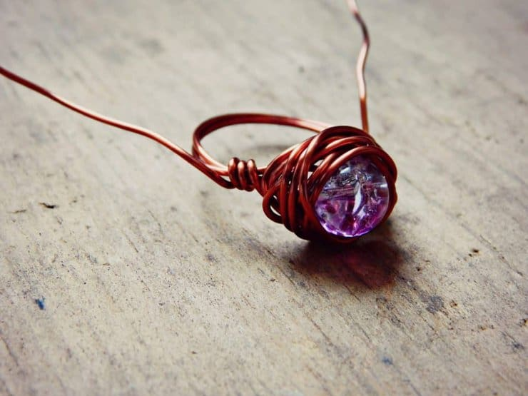 wire wrap ring 7