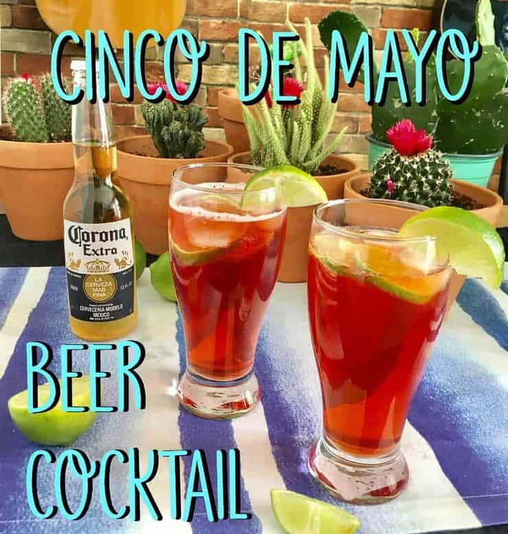 cinco de mayo beer cocktail