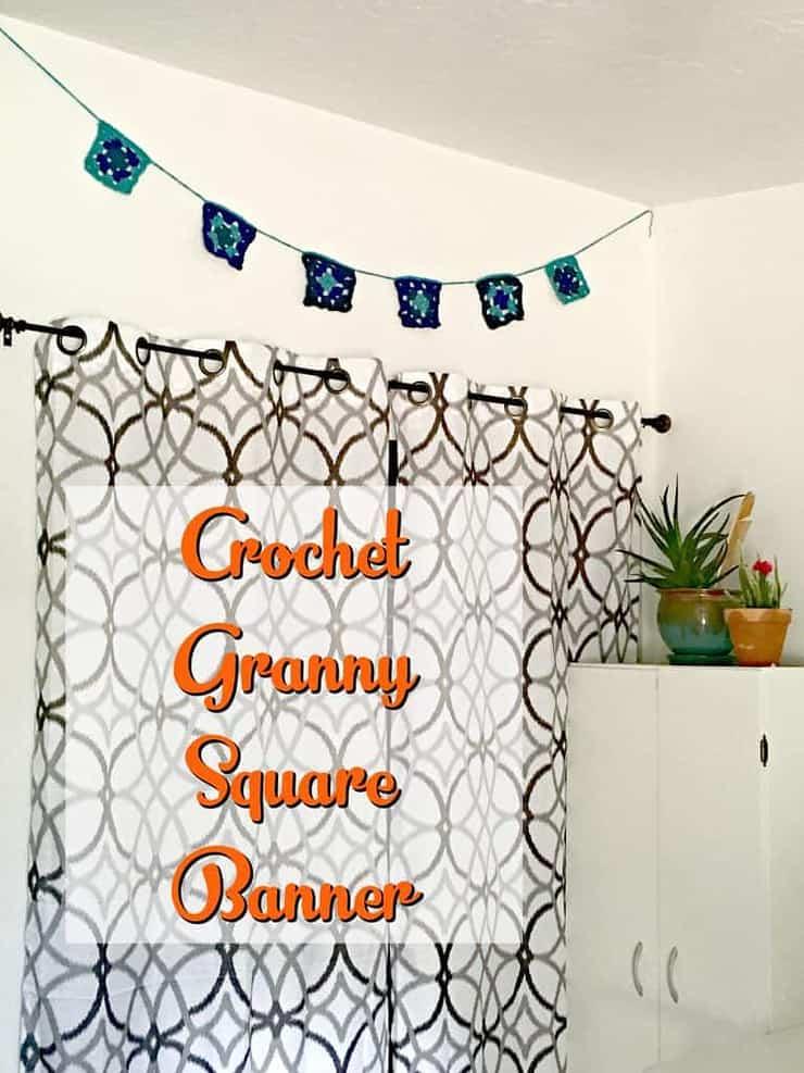 crochet granny square banner 2