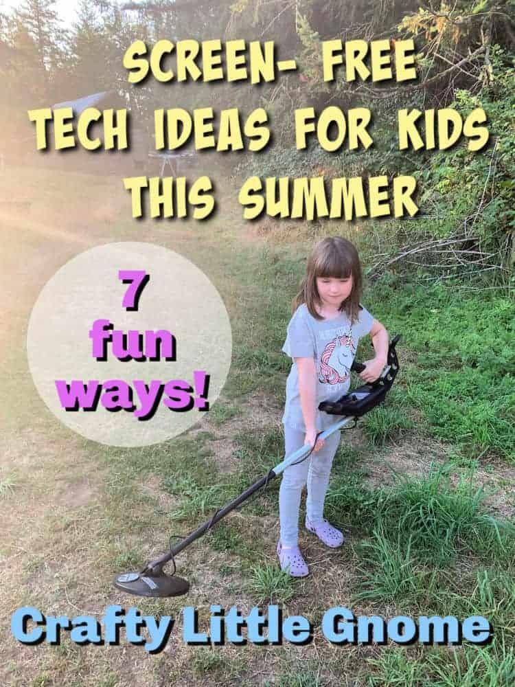 screen free tech for kids