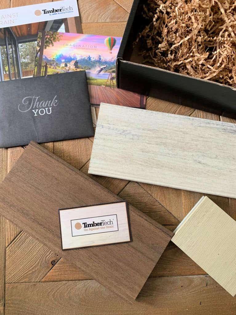 timber tech sampler pack