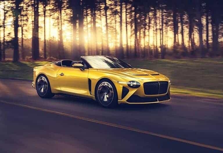 Золотая осень с Bentley