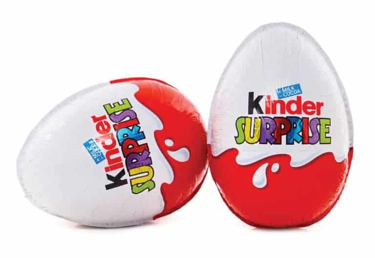 История появления шоколада Kinder Surprise