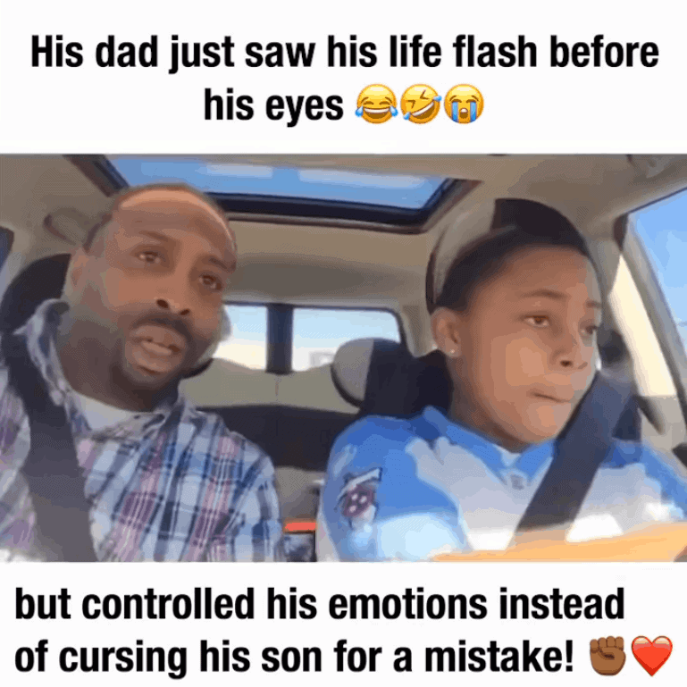 Great job dad!