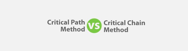 Critical Path Method vs Critical Chain Method