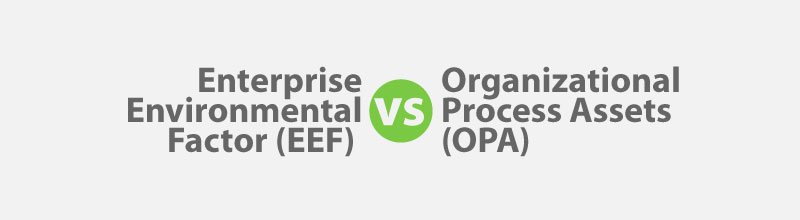 EEF vs OPA for PMP Exam