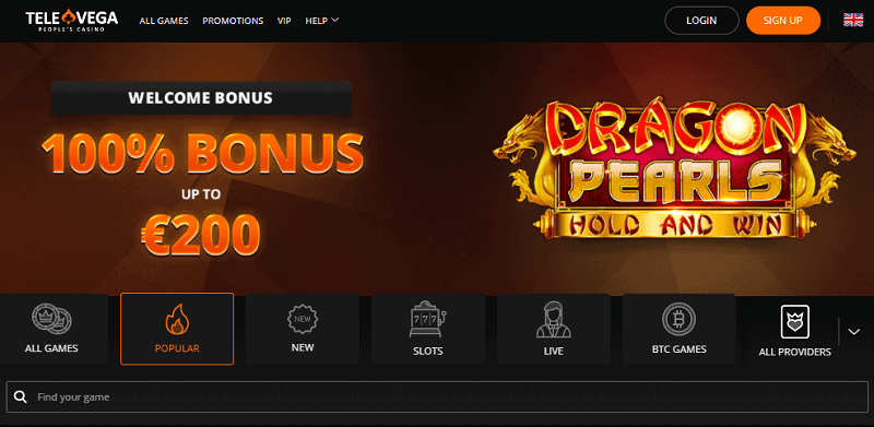 Enjoy a 100% welcome bonus and 100 free spins!