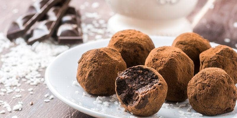 Beautiful Chocolate Truffles for National Candy Day