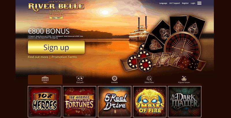 River Belle Casino Welcome Bonus