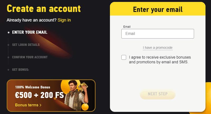 Register here and get free bonus!