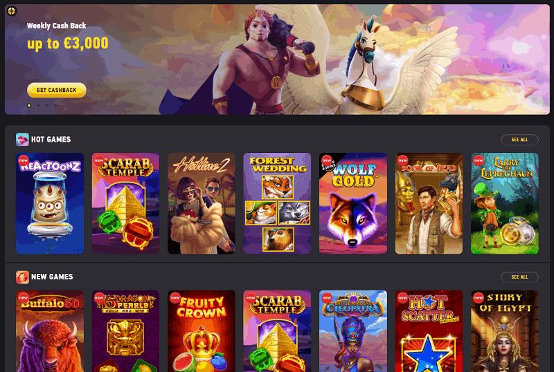 Fezbet Casino and Sportsbook welcome bonus