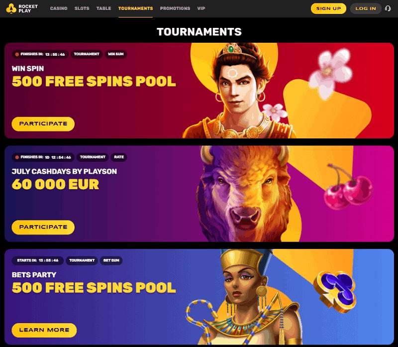 RocketPlay Casino Tournament
