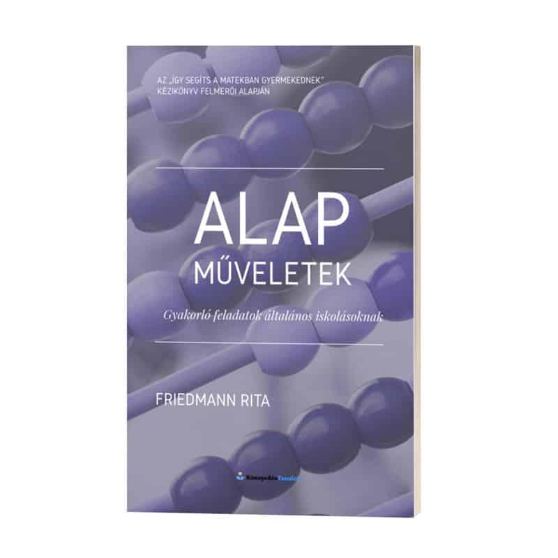 Alapműveletek gyakorló matek könyv
