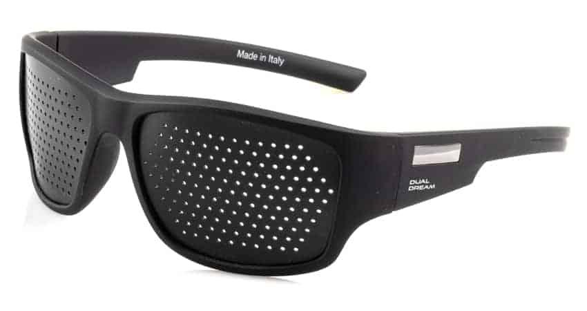 Fasciante Gommato Black occhiali stenopeici Dual Dream