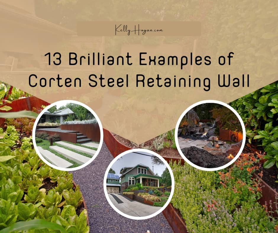 13 Brilliant Examples Of Corten Steel Retaining Wall