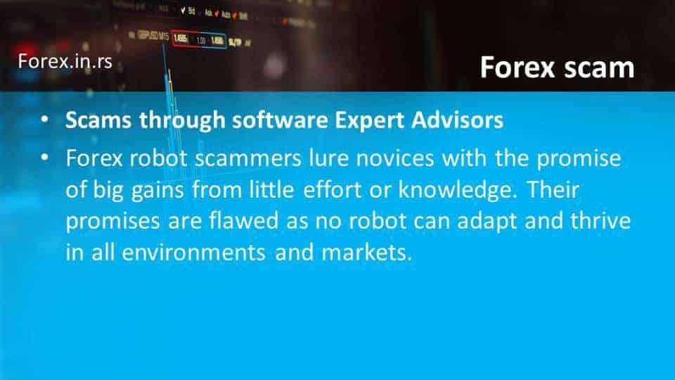 expert advisor scam