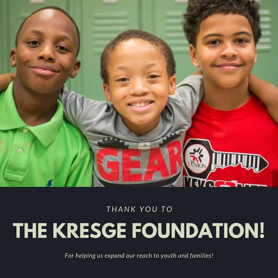 Thank You To The Kresge Foundation!