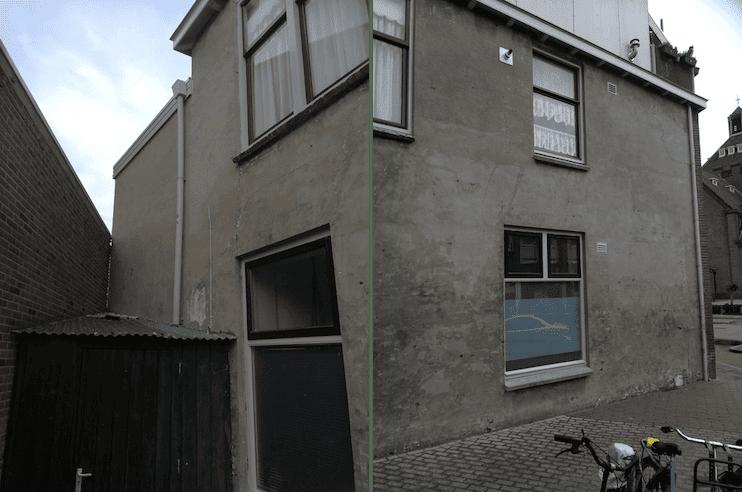 Renovatie gevel woning voor