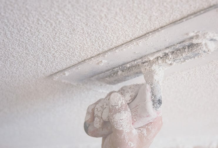 Sierpleister spachtelputz plafond