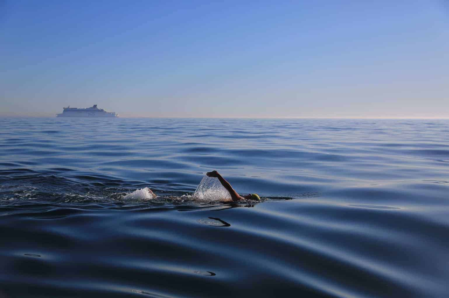VIDEO: St. Michaels Native Sets Record Swimming English Channel