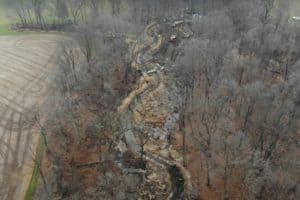 VIDEO: Drones' Eye View Shows Upper Sassafras River Progress