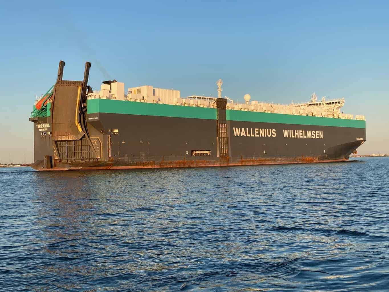 Ship from Port of Baltimore Runs Aground Near Cape Charles