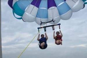 VIDEO: Parasailing Comes Home to Annapolis