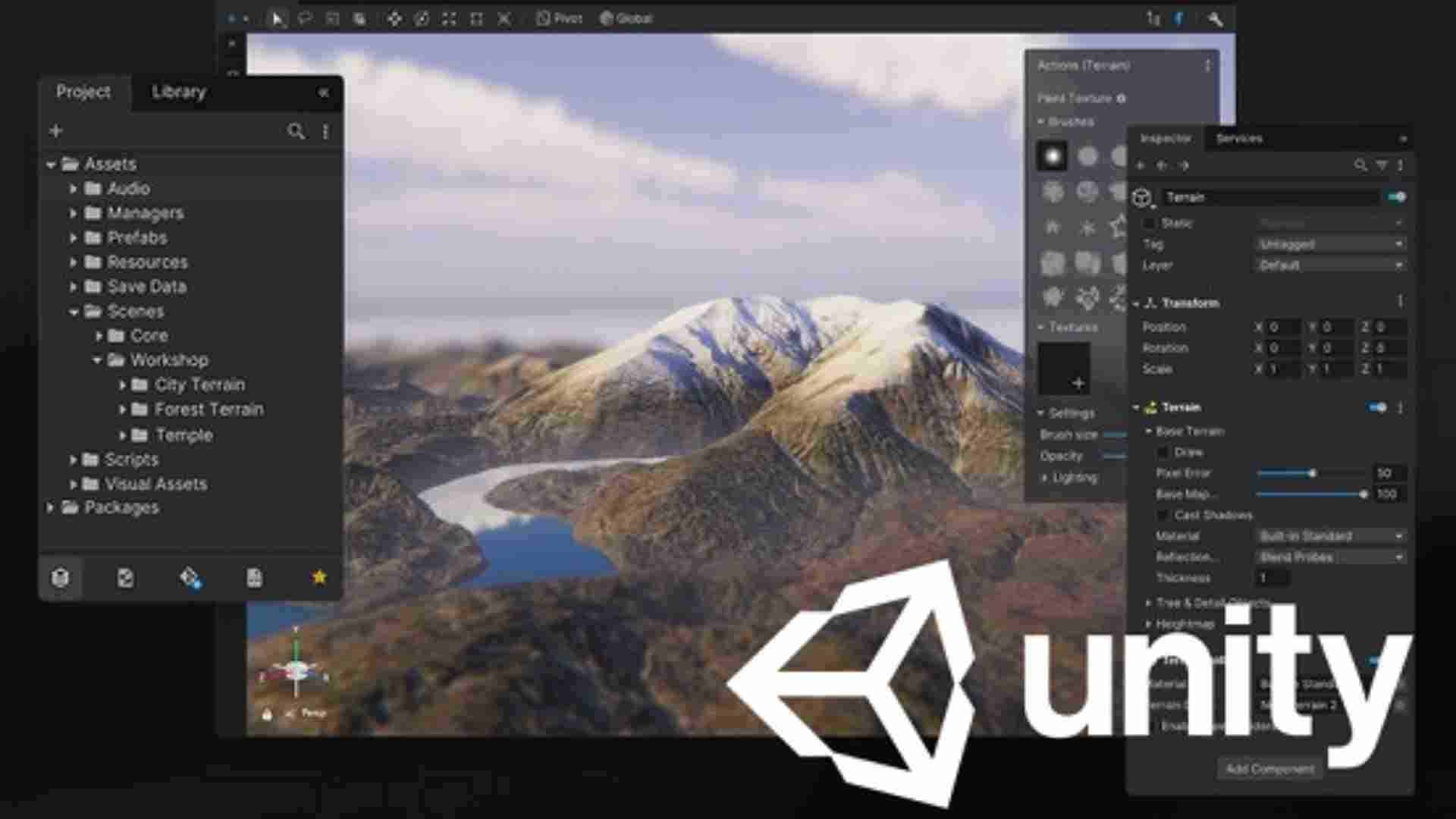 Screenshot from Unity - Animation software