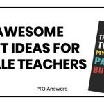 21 Awesome Gift Ideas for Male Teachers with a colorful notebook