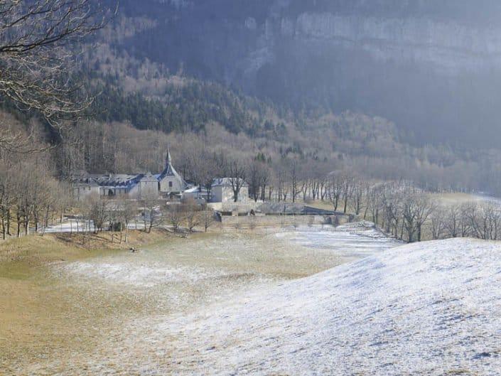 randonnée au Rocher de Bellevue, monastère de Chalais