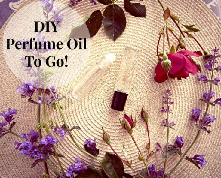 DIY perfume oil to go!
