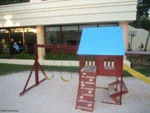 Playground and kids club at grand bahia principe