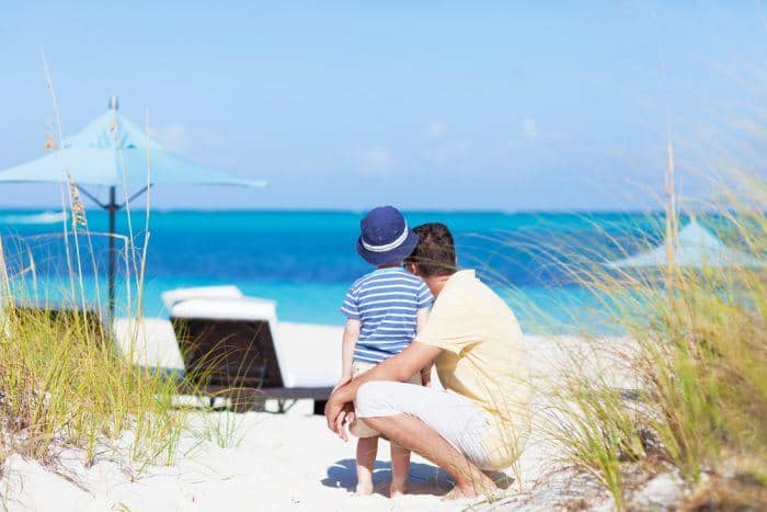 Beaches resort in the caribbean