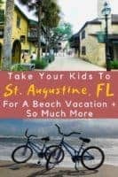 St. Augustin in florida is a family beach destination that offers so much more, from gilded-age mansions to spanish colonial history, plus great food and alligators! What more could your kids want? #st. Augustine #florida #floridashistoriccoast #thingstodo #beach #history #alligatorfarm #oldquarter