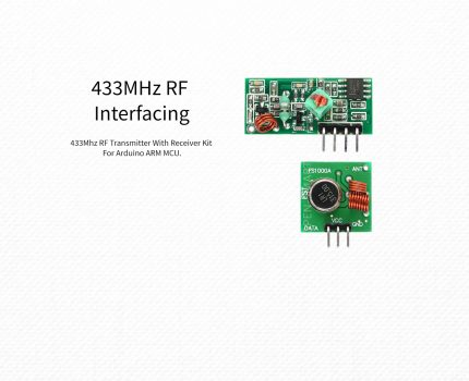 Arduino – 433MHz RF Interfacing