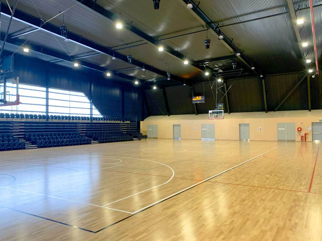 Basketball Court Cooling Airius Airflow Reinvented