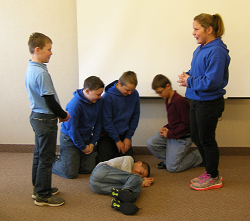 Yankton Benedictines Praying In Colors Children Crofton skit