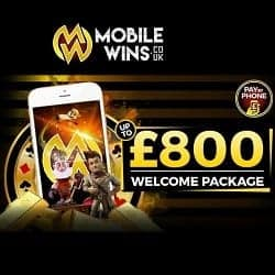 Mobilewins Casino Register Login 800 Free Welcome Bonus