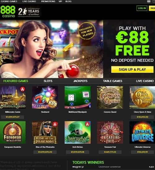 Casino 888 free вылезает казино вулкан как убрать