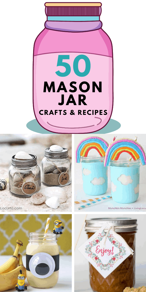 50 Diy Mason Jar Crafts And Recipes Living Locurto